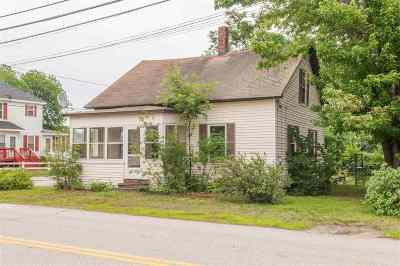 Nashua Single Family Home Active Under Contract: 26 New Dunstable Road