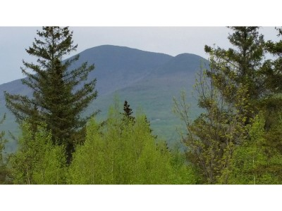 Franklin County Residential Lots & Land For Sale: Hazens Notch Road