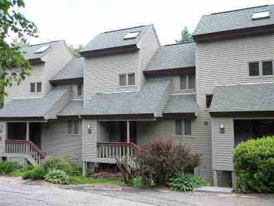 Waterville Valley Condo/Townhouse Active Under Contract: 21 Mountain Brook Way #19