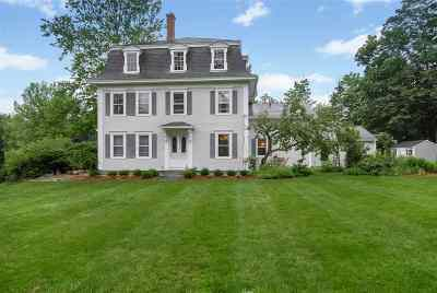Milford Single Family Home Active Under Contract: 34 Richardson Road