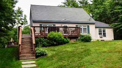 Weare Single Family Home Active Under Contract: 316 Old Francestown Road