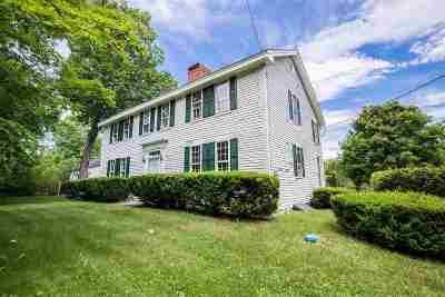 Merrimack County Single Family Home For Sale: 1050 Murray Hill Road