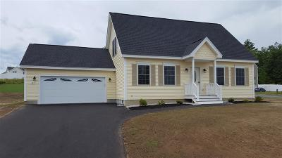 Hooksett Single Family Home For Sale: Lot 13-56 Crawford Lane