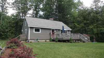 Weare Single Family Home Active Under Contract: 66 Beech Hill Road