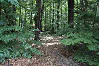 Sanbornton Residential Lots & Land For Sale: Mountain Road #Tax MAp