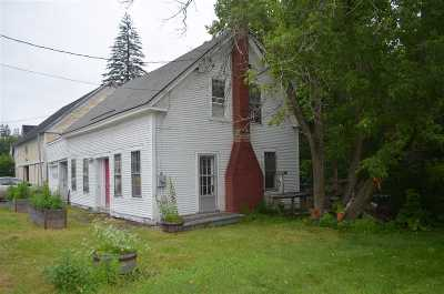 Montpelier Single Family Home Active Under Contract: 110 East State Street