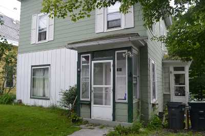 Montpelier Single Family Home Active Under Contract: 15 Foster Street