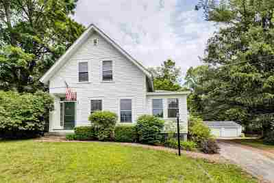 Bradford Single Family Home For Sale: 72 West Main Street