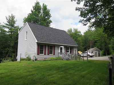 Weare Single Family Home For Sale: 1170 River Road