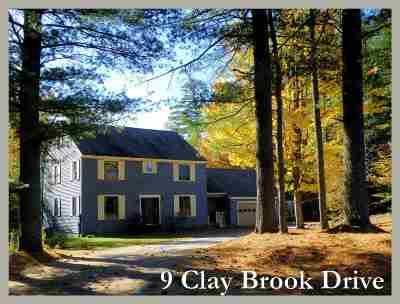 Plymouth Single Family Home Active Under Contract: 9 Clay Brook Drive