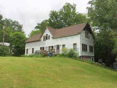 Haverhill NH Single Family Home For Sale: $140,000