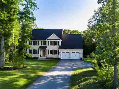 Stratham Single Family Home For Sale: 6 Point Of Rocks Terrace