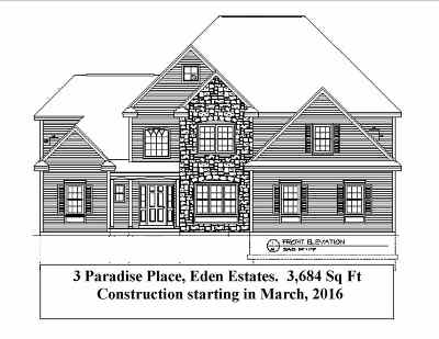 Salem Single Family Home For Sale: 5 Paradise Place