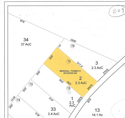 Lyman Residential Lots & Land For Sale: Hurd Hill Road