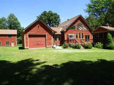 Pittsford Single Family Home For Sale: 1778 Fire Hill Road