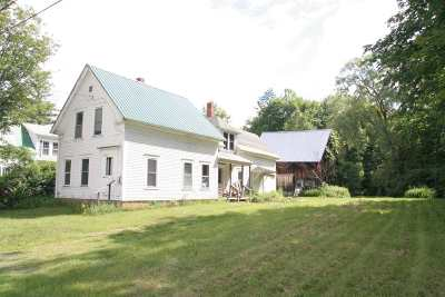 Barnet Single Family Home For Sale: 492 Us Route 5