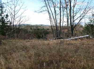 Merrimack County Residential Lots & Land For Sale: Hill Road