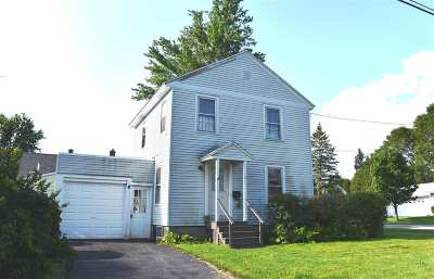 Rutland City VT Single Family Home For Sale: $99,900