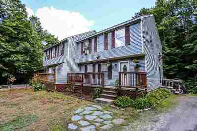 Weare Single Family Home Active Under Contract: 53 High Rock Road #53