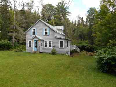Montpelier Single Family Home For Sale: 1763 Main Street