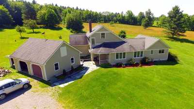 Wolcott Single Family Home For Sale: 1328/1330 Gates Farm Road