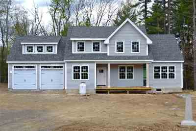 Stratham Single Family Home For Sale: 3 Jacqueline Way #Lot 97