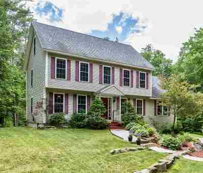 Sanbornton Single Family Home Active Under Contract: 249 Eastman Hill Road