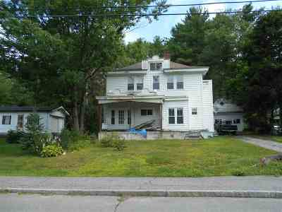 Littleton NH Single Family Home Active Under Contract: $87,500
