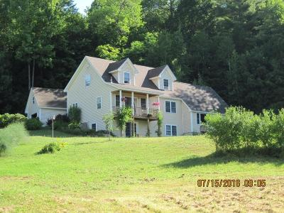 Bristol Single Family Home Active Under Contract: 155 Ten Mile Brook Road