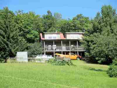 Enosburg Single Family Home For Sale: 4177 Enosburg Mountain Road