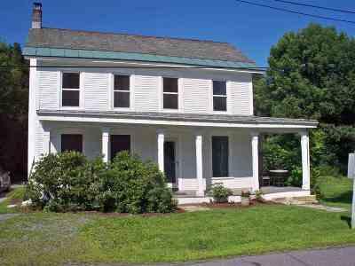 Castleton Single Family Home For Sale: 58 Seminary Street