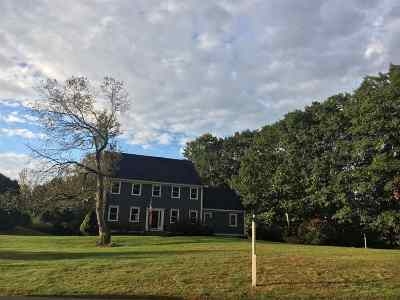 North Hampton Single Family Home Active Under Contract: 74 Exeter Road