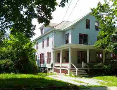 Rutland, Rutland City Multi Family Home For Sale: 6-8 Royce Street