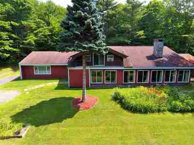 Stowe Single Family Home For Sale: 88 Upper Hollow Hill