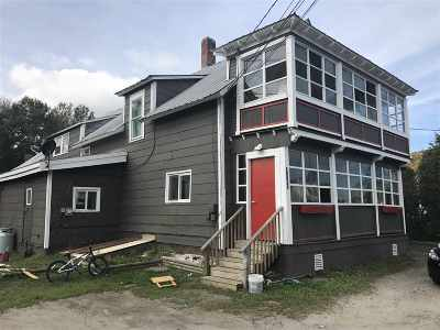 Sheffield Multi Family Home For Sale: 3147 Vt Route 122