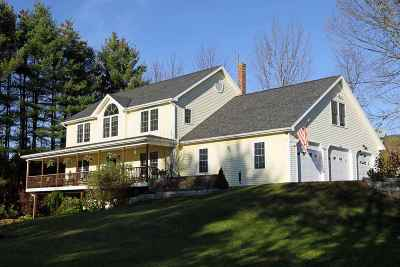 Waterbury Single Family Home For Sale: 1033 Loomis Hill Road