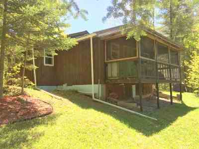 Newbury VT Single Family Home For Sale: $64,500