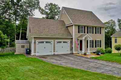 Goffstown Single Family Home Active Under Contract: 47 Fieldstone Drive