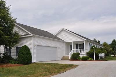 Hooksett Single Family Home For Sale: 33 Ironwood Circle