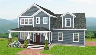 Bradford Single Family Home For Sale: Lot 1 North Ridge Road #1