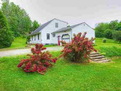 Hinesburg Single Family Home For Sale: 862 Pond Road