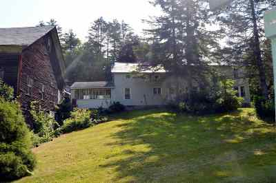 Wallingford Single Family Home For Sale: 347 Route 103
