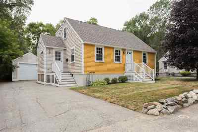 Portsmouth Single Family Home Active Under Contract: 248 Bartlett Street