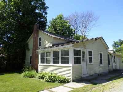 Castleton Single Family Home For Sale: 1084 Main Street