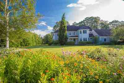 Waterbury Single Family Home For Sale: 833 Shaw Mansion Road
