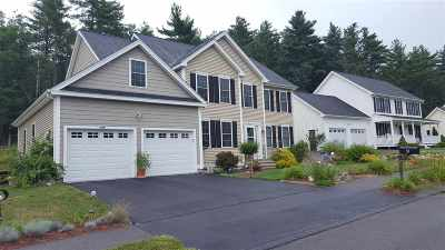 Merrimack Single Family Home Active Under Contract: 8 Nathan Hale Lane