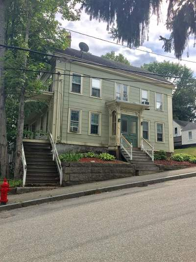 Somersworth Multi Family Home For Sale: 14 Mount Vernon Street