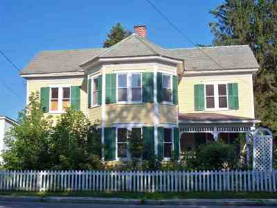 Fair Haven Single Family Home Active Under Contract: 153 North Main Street