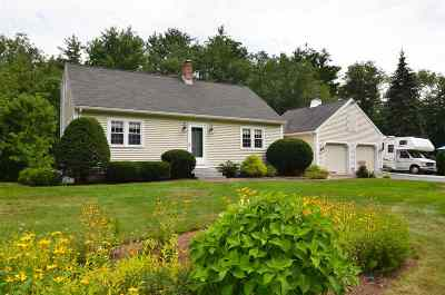 Concord Single Family Home Active Under Contract: 434 Josiah Bartlett Road