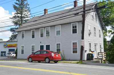 Lebanon NH Multi Family Home For Sale: $265,000